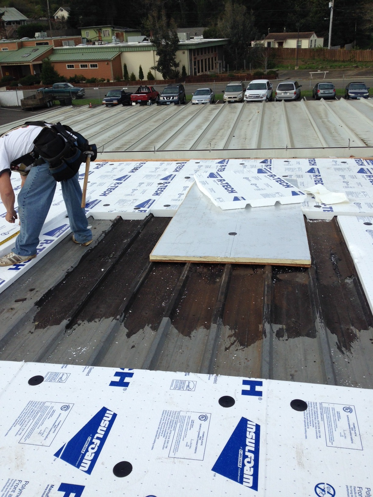 New Flat Roof For Coos Bay Toyota Flat Roof Specialist Com