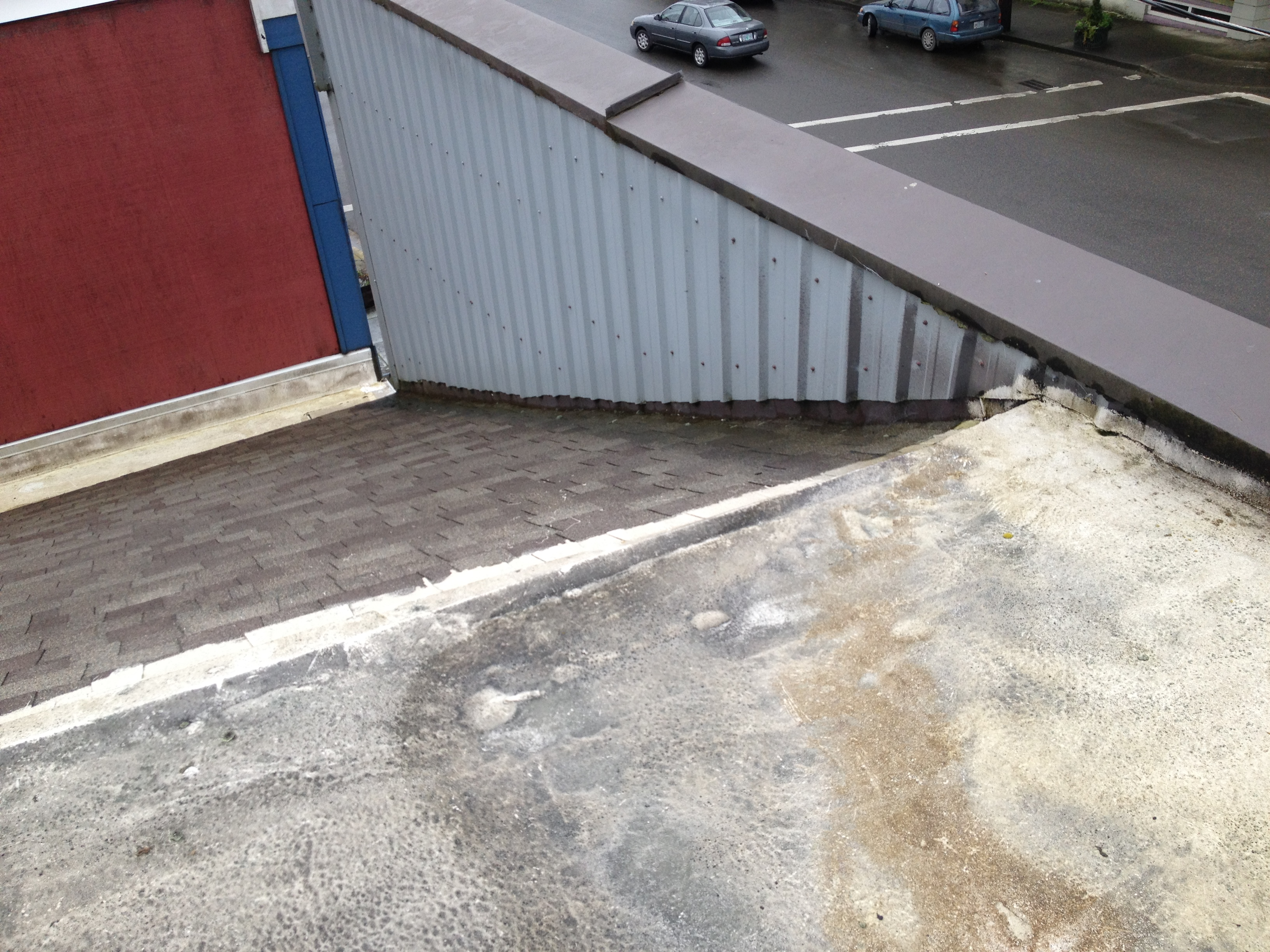 New Flat Roof For Sawdust Theater Coquille Oregon Flat