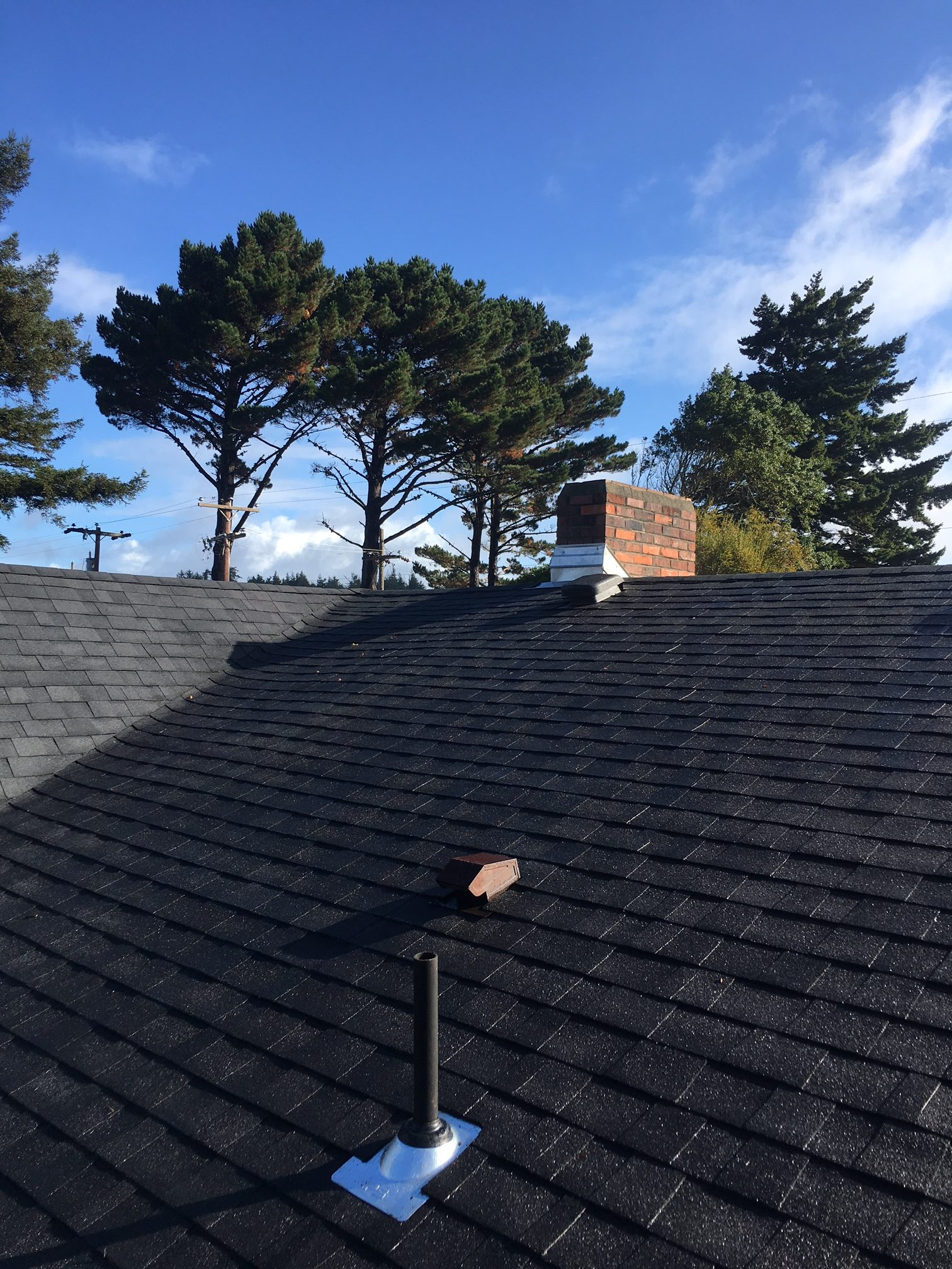 New Shingle Roof North Bend Oregon Flat Roof Specialist Com