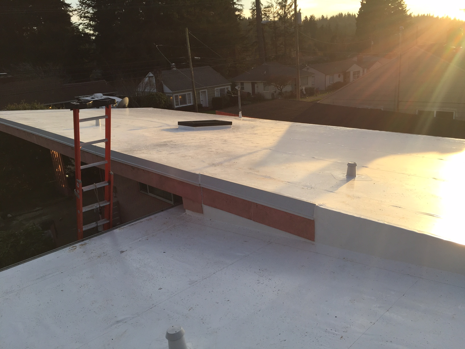 Residential Flat Roof Project Coos Bay Flat Roof